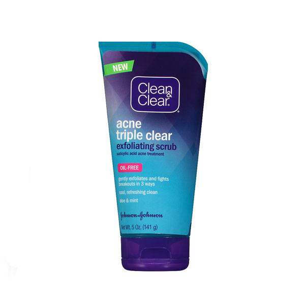 Clean-and-Clear-Acne-Triple-Clear-Exfoliating-Scrub