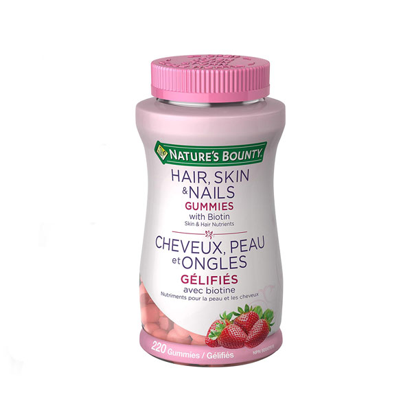 Nature's-Bounty-with-Biotin-for-Hair,-Skin-&-Nails-Gummies