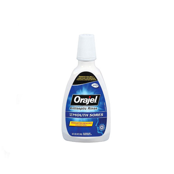 Orajel-Antiseptic-Rinse-For-All-Mouth-Sores